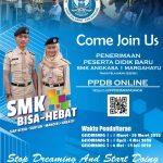 PPDB SMK Angkasa 1 tahun 2020 sudah dibuka..